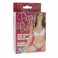 *50312 - Клиторальный стимулятор Strap-on Bizzy Birdy Vibe, розовый