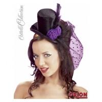 """24603781000 - Шляпка Cottelli Collection """"Burlesque"""" черная"""