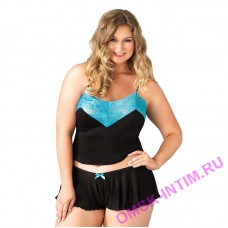 LG8873 X(3-4) - Комплект Plussize nightie empire waist X(3-4)