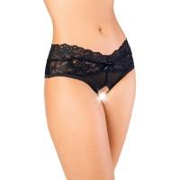 741161 (50-52) - Эротические трусики Erolanta Lingerie Collection черные