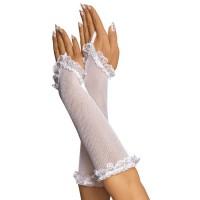 63320200 - Перчатки-сетка, до локтя, белые-OS
