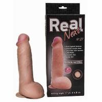 """562703ru - Фаллоимитатор на присоске 8"""" REAL Next № 27"""