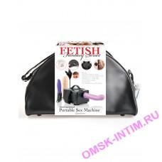 3762-00 - Секс-машина Fetish Fantasy Series Portable Sex Machine портативная, черная