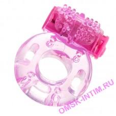 818040-3 - Виброкольцо TOYFA, TPE, розовый