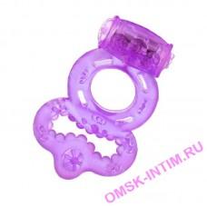818037-(1,3,4) - Виброкольцо (фиолет.,розов, прозрач,)