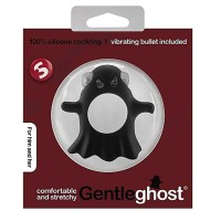 SLI162BLK - Виброкольцо Gentle Ghost Cockring Black