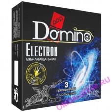 669 - Презервативы Luxe DOMINO PREMIUM Electron, мята, лаванда и банан, 3 шт. в упаковке