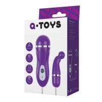 761010 - Виброяйцо TOYFA A-toys, ABS пластик, Фиолетовый, 1,4см
