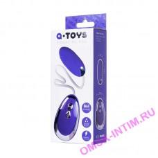 764010 - Виброяйцо TOYFA A-Toys  , Силикон, Фиолетовый,  6,5 см