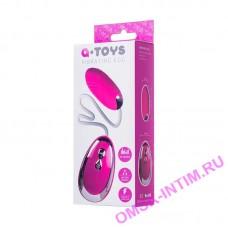 764011 - Виброяйцо TOYFA A-Toys  , Силикон, Розовый, 6,5 см