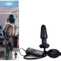 5541380000 - Вибростимулятор анальный с грушей Fanny hill's
