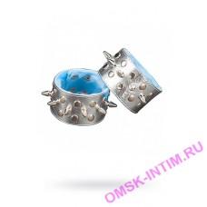 5016-6 - Напульсники серебристые с подкладкой