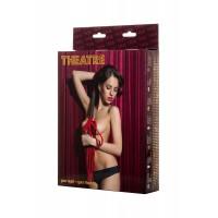 700014 - Плеть TOYFA Theatre из замши красная ,45 см