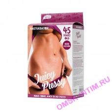 893033 - Мастурбатор реалистичный TOYFA Juicy Pussy, Mature, возрастная серия 45 летняя, вагина, TPR, телесный, 14,5 см
