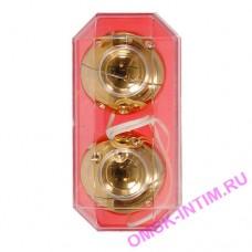 3000003111 - Шарики золотые вагинальные 3,5 см