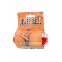 3000003112 - Вагинальные шарики Dream Toys, легкие, ABS пластик, серебристые, Ø3,5 см