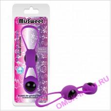 73201322 - Вагинальные шарики Geisha Balls, фиолетовые