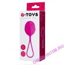 Вагинальный шарик TOYFA A-toys силиконовый, розовый, 3,5 см
