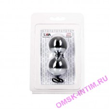Вагинальные шарики TOYFA, ABS пластик, серебристые, 20,5 см