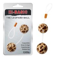 Вагинальные шарики Leopard Ball, леопардовые