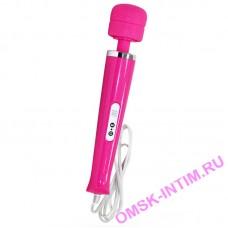 0713-1 - Вибромассажер, Magic Wand, проводной, розовый