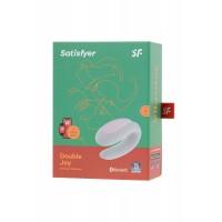 J2008-16-2 - Многофункциональный стимулятор для пар Satisfyer Partner Double Joy, Силикон, Белый, 18 см
