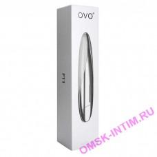 F11-(5,10,12) - Вибратор OVO (фиолетовый, белый, ежевичный)