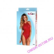 840060-RED-XL - Боди Candy Girl Paris, красное, XL