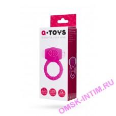 769001 - Эрекционное кольцо на пенис TOYFA A-Toys  , Силикон, Розовый, 2,5 см