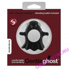 SLI162BLK - Виброкольцо Gentle Ghost Cockring Black