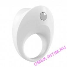 B10-(1,10) - Эрекционное кольцо OVO (белое, чёрное)
