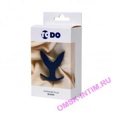 357007 - Расширяющая анальная втулка ToDo by Toyfa Bloom, силикон, синяя, 9,5 см, 7 см