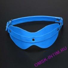 5015-5 BX SIT - Глухая маска на глаза голубого цвета