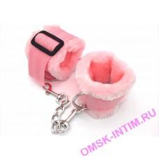 """EH 251314046 - Наручники (оковы) """"Perfect pink"""" с мехом"""