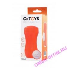 763005 - Мастурбатор TOYFA A-Toys, рот, оранжевый/телесный, 14 см