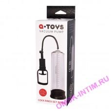769011 - Помпа для пениса TOYFA A-Toys, PVC, Прозрачный, 27,5 см