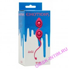 4003-02Lola - Вагинальные шарики Emotions Gi-Gi Pink