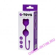 764013 - Вагинальные шарики A-Toys by TOYFA, силикон, фиолетовые