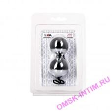 885006 - Вагинальные шарики TOYFA, ABS пластик, серебристые, 20,5 см