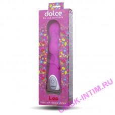591001 - Вибратор Dolce Leo (Bubblegum pink)