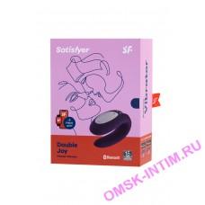 J2008-16-3 - Многофункциональный стимулятор для пар Satisfyer Partner Double Joy, Силикон, Фиолетовый, 18 см